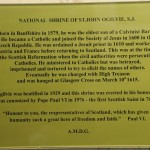 A Ogilvie Vespers - 013 plaque