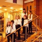 The children of the Glasgow Russian Orthodox School