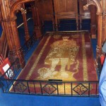 Robert the Bruce's Tomb in Dunfermline Abbey