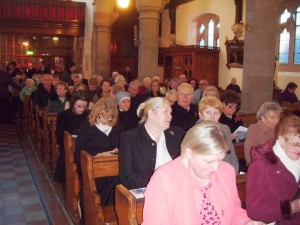 Some of the congregation