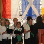 Members of the Gaelic League Singers