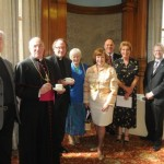 Baillie McMaster with members of Glasgow Churches Together