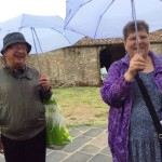 Matching umbrellaskeep us smiling