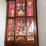 One of the relic cabinets in the Capella dal Pozzo