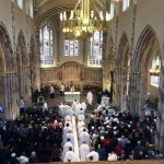 The beginning of the Chrism Mass