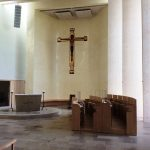 The beautiful chapel at Stanbrook