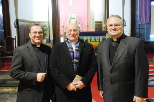 Archbishop Emeritus Conti with Frs. Wojciech Stachyra & Roman Kossakowski of St. Anne's