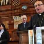 Archbishop Tartaglia with Dr. Sinclair and Rev. Hendry