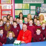 St Timothy's Primary with friends on St Patrick's Day 2009