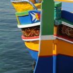 Traditional Maltese fishing boat