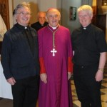 Fr Gerry Fitzpatrick, Archbishop Emeritus Joseph Mercieca and Fr Brendan Murtagh