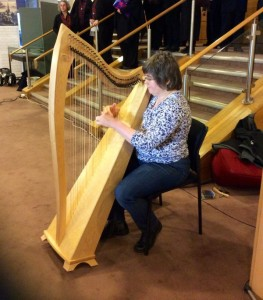 Harpist Grace Guse