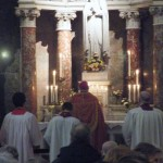 The service of Light at the shrine of St John Ogilvie
