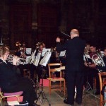 Rutherglen Salvation Army Band opening the service