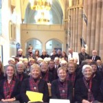 Some of the St. Mungo Singers present for the Mass
