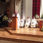 Archbishop Tartaglia during his homily