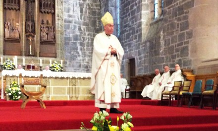 Episcopal Ordination of Mgr. Brian McGee as Bishop of Argyll & Isles