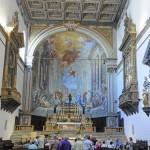 St Mungo Singers at Mass in Sienna