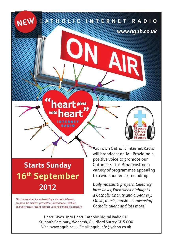 New Catholic Radio Station on September 6th